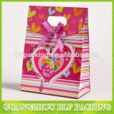 Bolsa de regalo papel troqueladas