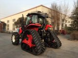 Bauernhof-Traktor-Gummispur-Traktor des Spur-Gleiskettenschlepper Fram Traktor-130HP