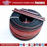 Tubo flessibile idraulico di gomma quattro/sei della treccia del collegare dell'acciaio ad alta resistenza