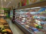 China Fabricante frigorífico/Venda Quente Abrir Chiller com cortina de ar