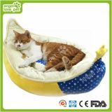 Qualitäts-gerundete Form-weiches warmes Haustier-Bett (HN-pH578)