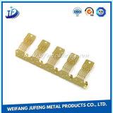 Tôle d'alliage de cuivre estampant des pièces pour le clip en métal