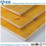 構築の型枠機能のための1220*2440*18mmの黄色い合板