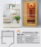 Sauna 2017 d'infrarouge lointain de cigûe de Hotwind pour 1person-Ap1
