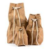 Мешки крафт-бумаги/мешков с кулиской для простого закрытия