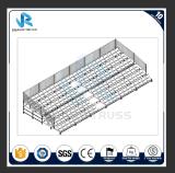 Fábrica de estadio del asiento de la gradería cubierta del andamio de los blanqueadores de la gradería cubierta del blanqueador de la capa
