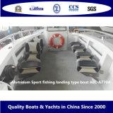 Aluminiumsport-Fischerei-Landung-Typ Boot Alc-A770A