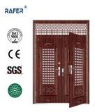 Porta de aço da folha dobro na porta (RA-S178)