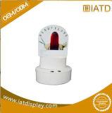 Petit présentoir d'étage de Cadboard, Au PDQ avec le crochet en plastique pour l'écouteur