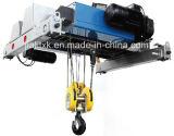 Élévateur électrique de double poutre de 8 tonnes avec le moteur à engrenages d'ABM de l'Allemagne