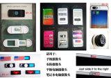 Custom отдельных подарочной упаковки плавающий диск и поставляется в комплекте с вашим логотипом с ультра тонкий цветной печати веб-камера ползунок крышки