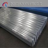 O cartão canelado Aluzinc folha de metal de ferro metálico para a construção