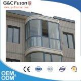 Ventana de desplazamiento barata del aluminio de la doble vidriera del metal del último diseño