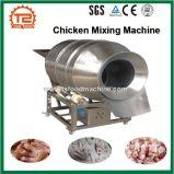O frango e o pé de frango e máquina de mistura de processamento