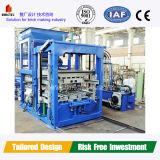 Máquinas de fabrico de blocos para a fábrica de tijolos de cimento