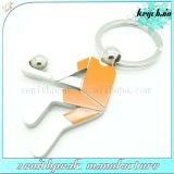 Figura incisa metallo attraente Keychain della Camera di marchio con l'anello portachiavi