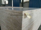 1220*2440mm白いマット表面B/B HPL FalcataのコアBlockboard