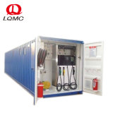 20FT Mobile Station de remplissage de carburant de conteneurs exportés à l'Afrique