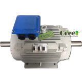 30kw 200tr/min, 3 générateur de phase magnétique AC générateur magnétique permanent, le vent de l'eau à utiliser avec un régime faible
