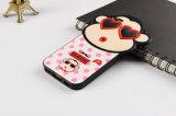 Teléfono de silicio caso para el iPhone