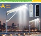 Im Freien30w integrierte Solar-LED-Garten-Flut-Straßenlaternemit Fernsteuerungs