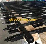 rete fissa nera tubolare d'acciaio della macchia di 2400X2100mm