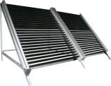 分割されたヒートパイプの加圧太陽給湯装置