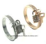 여자의 보석 925 순은 최신 여성 반지 (R10280)를 위한 키를 가진 형식 반지
