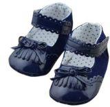 Barato preço grossista Moccasin Bebé calçado Vestuário para bebé Menina do modelo de calçado