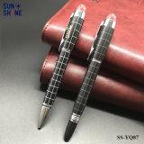 도매 주문 로고 선물 펜 고정되는 금속 실무자 펜