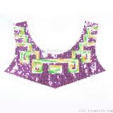 Branelli Sequined del tessuto del collare del merletto di colori per gli accessori dell'indumento del vestito