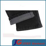 Men (JC3403)のための余暇Black Fitted Skinny Jeans