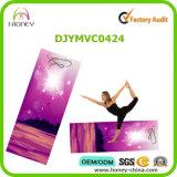De Afgedrukte Yoga&Pilate Mat van de douane Etiket, Inbegrepen Riem