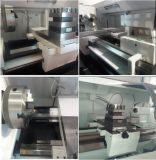 Высокая обрабатывая машина Lathe CNC плоской кровати точности Cknc61100