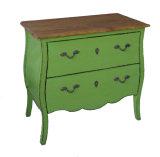 Mobiliário antigo armário de cabeceira de madeira Lwb609