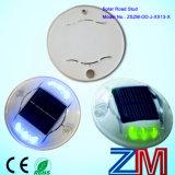 En alliage d'aluminium LED clignotante Road Stud / Road Marker avec panneau solaire