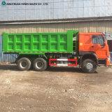 10wheeler de ChineesVrachtwagen van de Stortplaats Truk met het Gewicht van de Lading 25ton