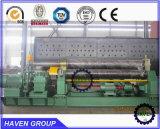 W11-8X3200 Tipo mecânicos de flexão da placa de 3 roletes e máquina de laminação,