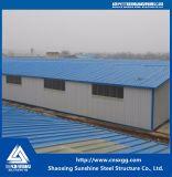 Struttura d'acciaio prefabbricata per il magazzino d'acciaio della costruzione
