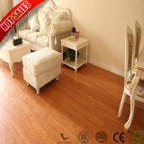 Quadro de baixo preço piso laminado de madeira de teca 12mm
