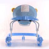 Marcheur simple de bébé de roulement multifonctionnel avec la lumière