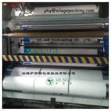 Película de filme estirável ensilagem de forragens secas de material de embalagem para silagem rodada e fardos quadrados