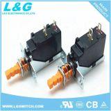 CUL/ENEC/CQC TV5 16unipolaire d'alimentation d'un interrupteur à bouton poussoir (MPS11)