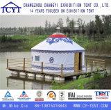Yurt 방수 야영 여행자 몽고 알루미늄 대나무 천막