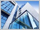 L'espace libre/Inférieur-e/s'est givré/glace creux en verre isolé coloré pour la construction