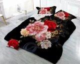柔らかい織物のシーツの反応印刷の寝具の一定のシーツ