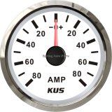 "2 "" 52mm Ammeter/AMP Gauge con Current Selezionano-in su Unit +/-80A con Backlight"