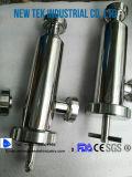 Filtres sanitaires de cornière de canalisation de double d'acier inoxydable