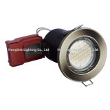 5W het UK BS476 Fire Rated LED Ceiling Downlight met New Red Junction Box