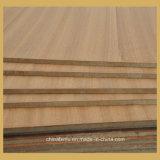 4mm de chapa de madera de teca natural de Sapele Fancy contrachapado de madera contrachapada de Sapele/Comercial de cara